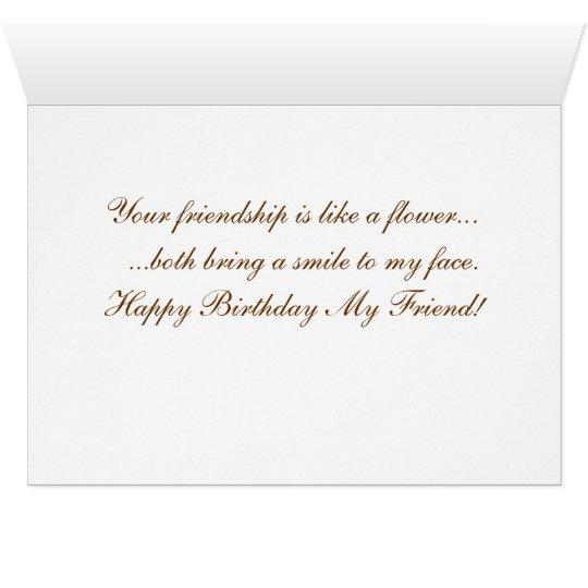 Birthday Card for a Friend