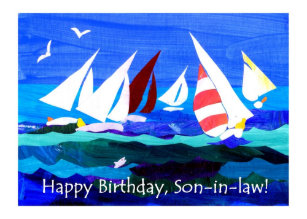 Birthday Card For A Son In Law
