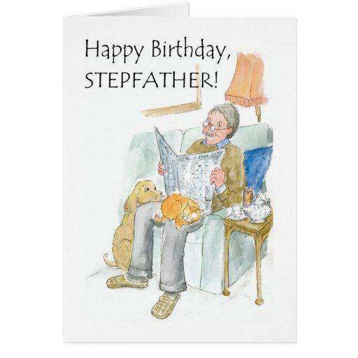 Birthday Card for a Stepfather