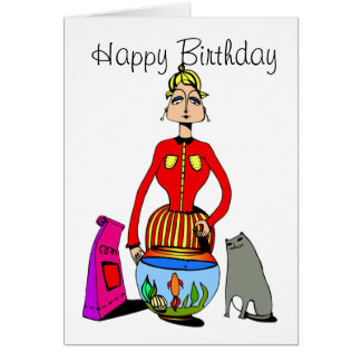 Birthday Card for Cat Lovers