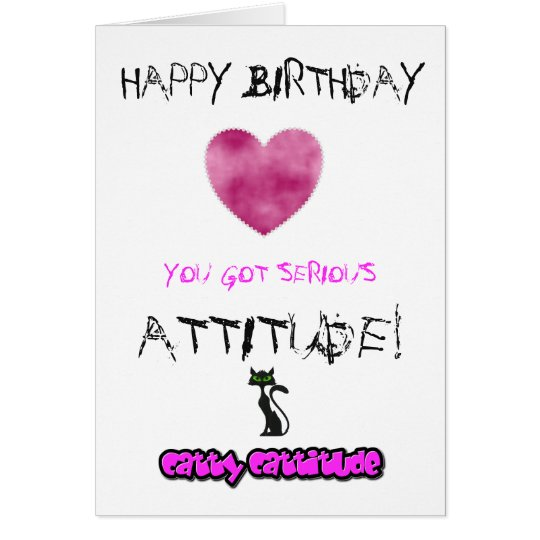 Birthday card for girls - can be customised