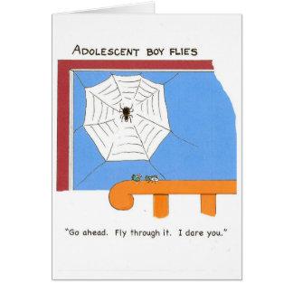 Birthday card for teenage boys