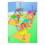 Birthday Card for Yoga Lover - Twisted Yoga