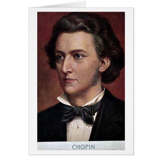 Birthday Card - Frederic Chopin