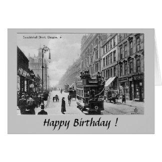 Birthday Card - Glasgow, Sauchiehall Street