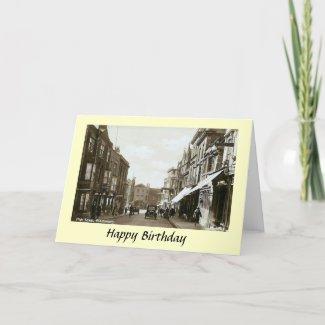 Birthday Card - Glastonbury, Somerset