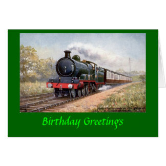 Birthday Card - Great Central Railway