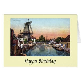 Birthday Card - Haarlem, Netherlands