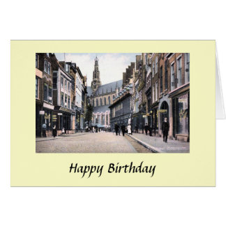 Birthday Card - Haarlem, Netherlands