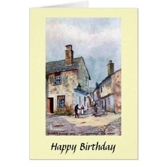 Birthday Card - Hawkshead, Cumbria