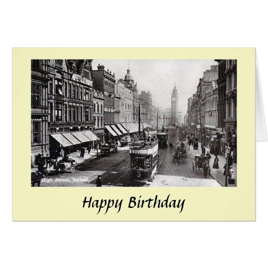 Birthday Card - High Street, Belfast