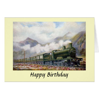 Birthday Card - Highland Railway