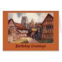 Birthday Card - KES, Stratford-upon-Avon