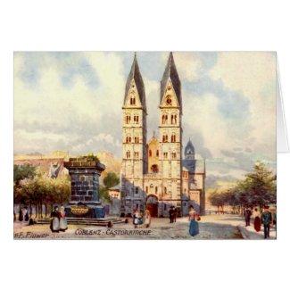 Birthday Card, Koblenz, Germany