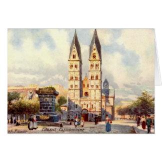 Birthday Card, Koblenz, Germany Greeting Card