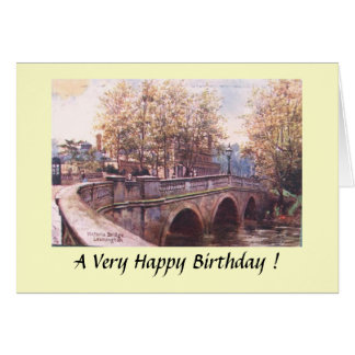 Birthday Card - Leamington Spa, Warwickshire