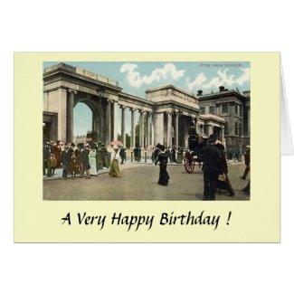 Birthday Card - London, Hyde Park Corner