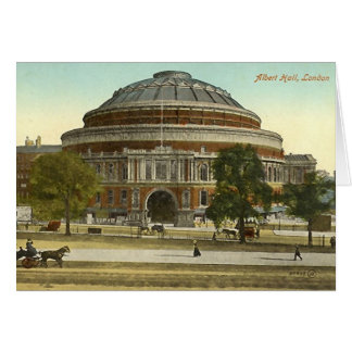 Birthday Card, London, Royal Albert Hall Card