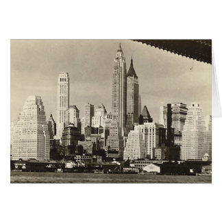 Birthday Card, Lower Manhattan Skyline Card