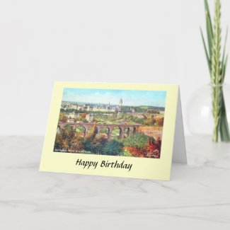 Birthday Card - Luxembourg