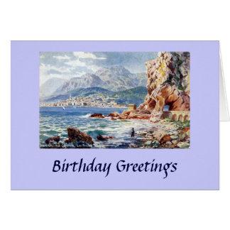 Birthday Card - Menton