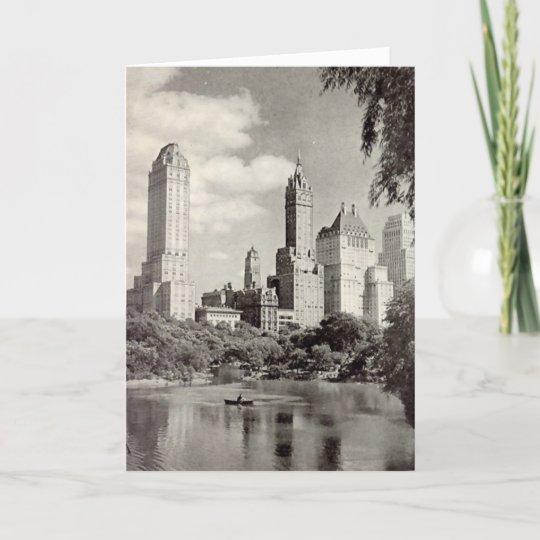 Birthday Card New York City Central Park