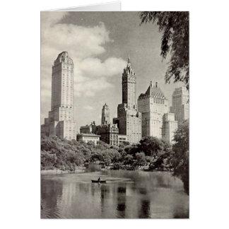Birthday Card, New York City, Central Park Card