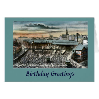 Birthday Card - Newcastle-upon-Tyne