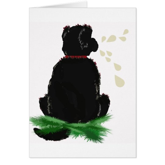 Birthday Card~ Newfoundland Dog Card