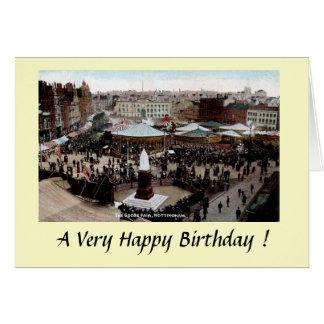 Birthday Card - Nottingham Goose Fair