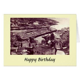 Birthday Card - Petty Harbour, Newfoundland