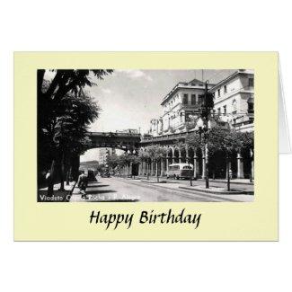 Birthday Card - Porto Alegre, Brazil