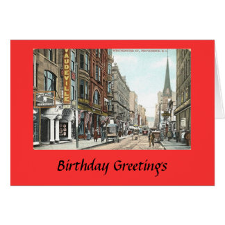 Birthday Card - Providence, RI