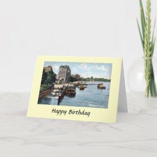 Birthday Card - Putney, London