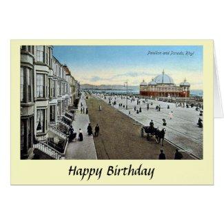 Birthday Card - Rhyl, Denbighshire