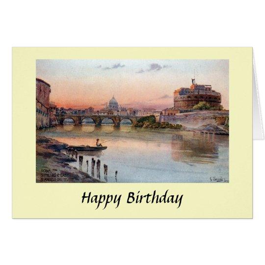 Birthday Card - Rome, Italy
