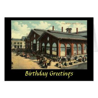 Birthday Card - Savannah, Georgia