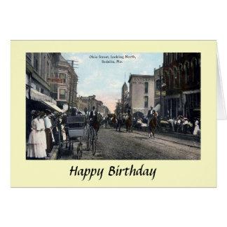 Birthday Card - Sedalia, Missouri, USA
