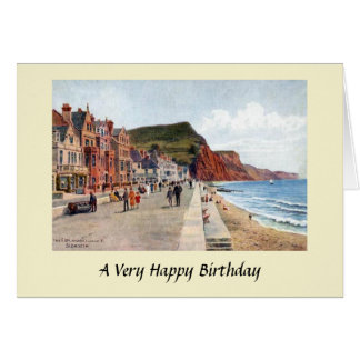 Birthday Card - Sidmouth, Devon