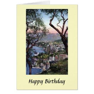 Birthday Card - Sorrento, Italy