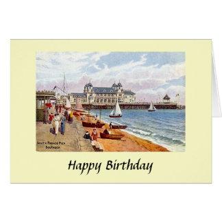 Birthday Card - South Parade Pier, Southsea