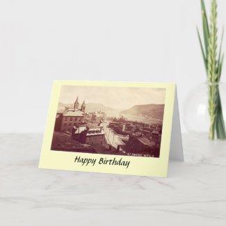 Birthday Card - St John's, Newfoundland