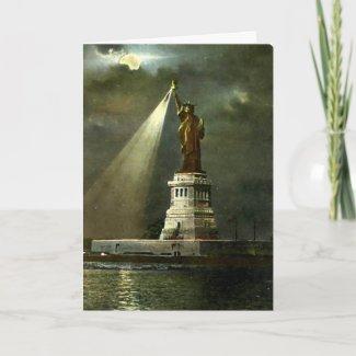 Birthday Card - Statue of Liberty, NYC