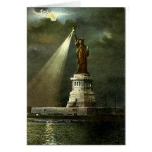 Birthday Card - Statue of Liberty, NYC Greeting Card