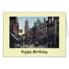 Birthday Card - Steenweg, Utrecht, Netherlands