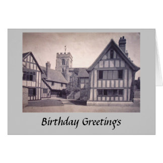 Birthday Card - Stratford-upon-Avon, KES