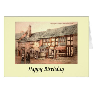 Birthday Card - Stratford-upon-Avon, Warwickshire