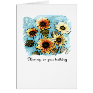 Birthday Card - Sun Goddess