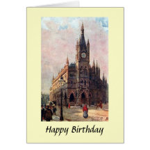 Birthday Card - The Exchange, Bradford, Yorkshire Greeting Card