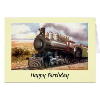 "Birthday Card - The ""Katy Flyer"""